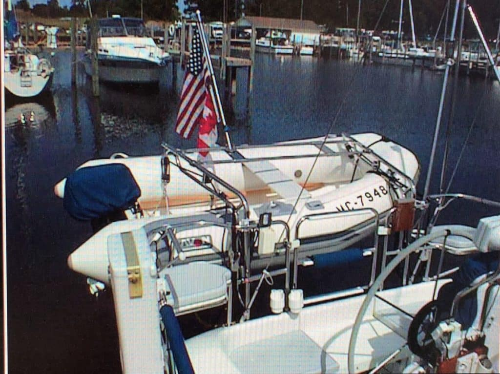 Ocean Marine Systems Dinghy Davit Hsd 30 40 Heavy Duty