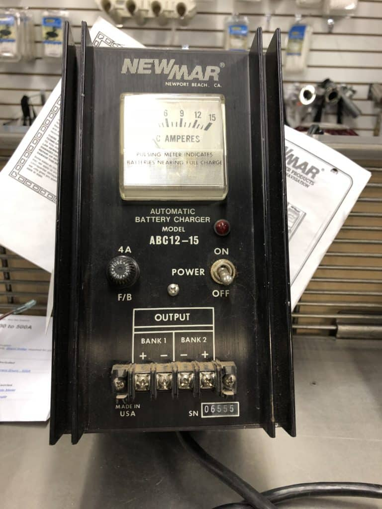 Newmar Battery Charger Model Abc12 15