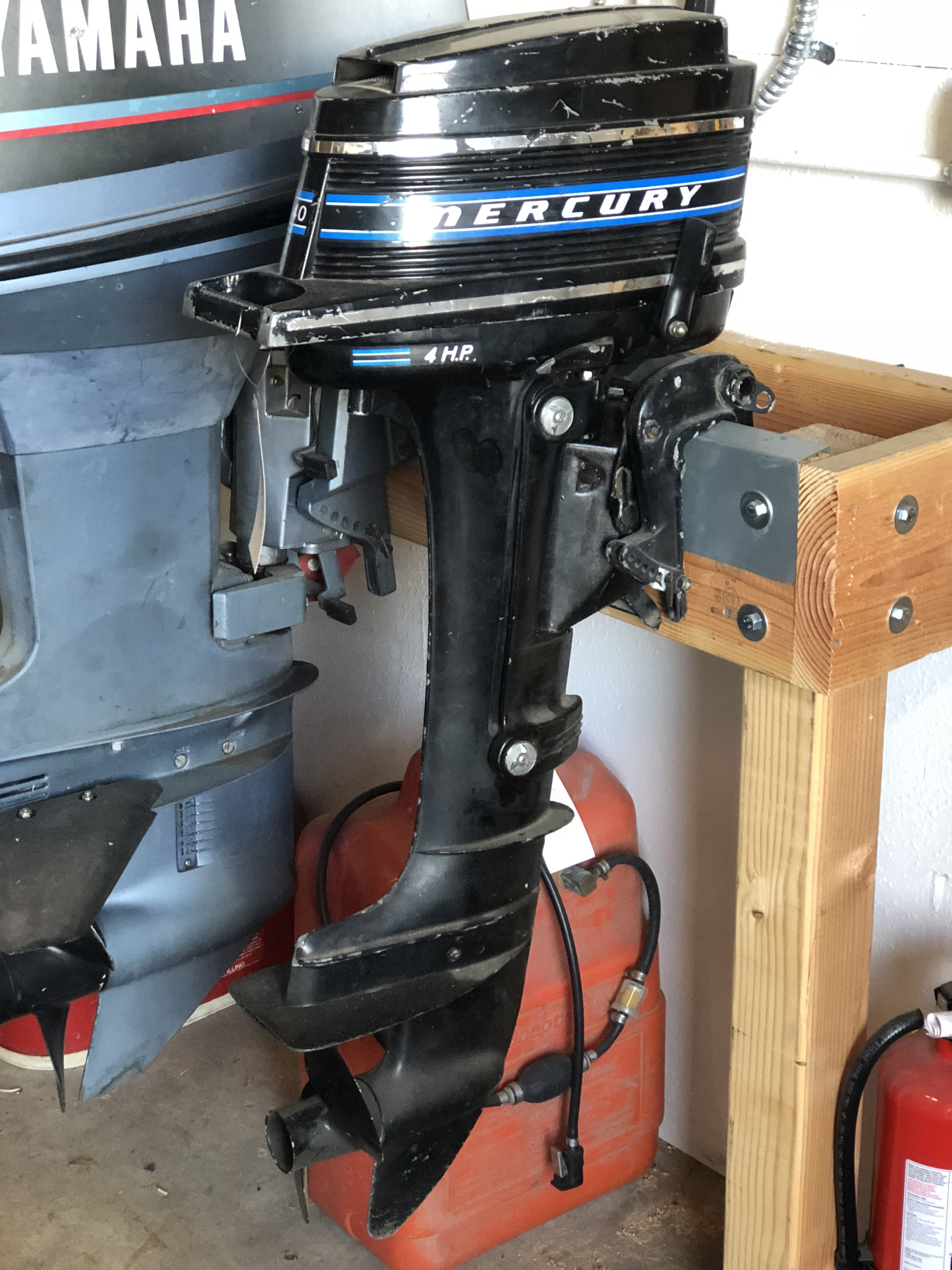 Mercury 2 Stroke Outboard specs to Starting
