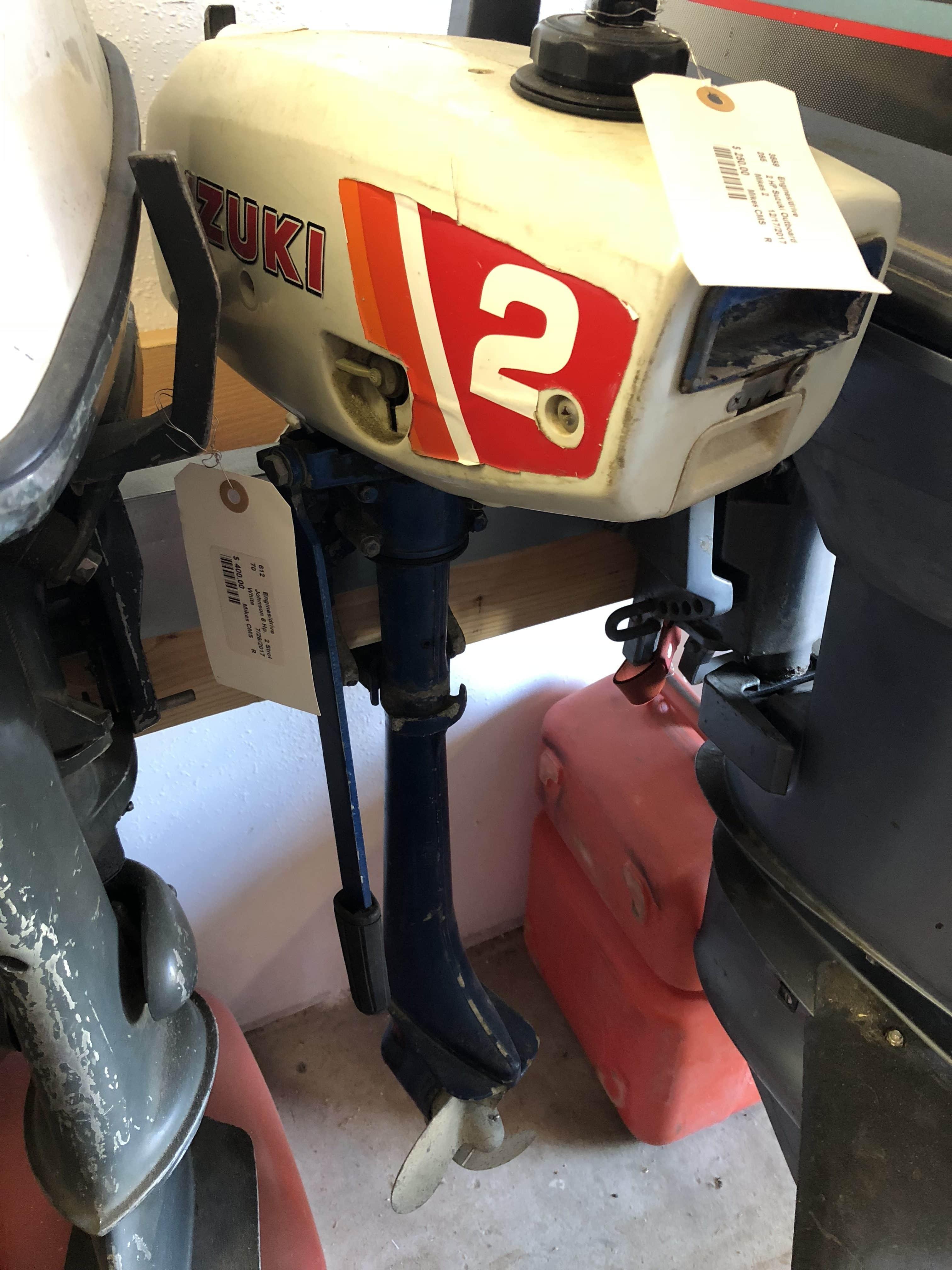 Suzuki 2HP - Long Shaft 2-Stroke Outboard