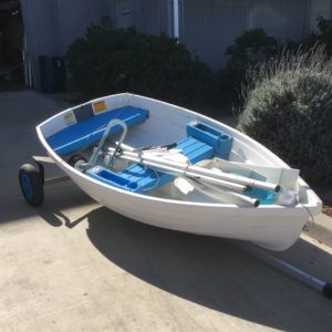 Walker Bay 8 Dinghy with Sail Kit and Oars