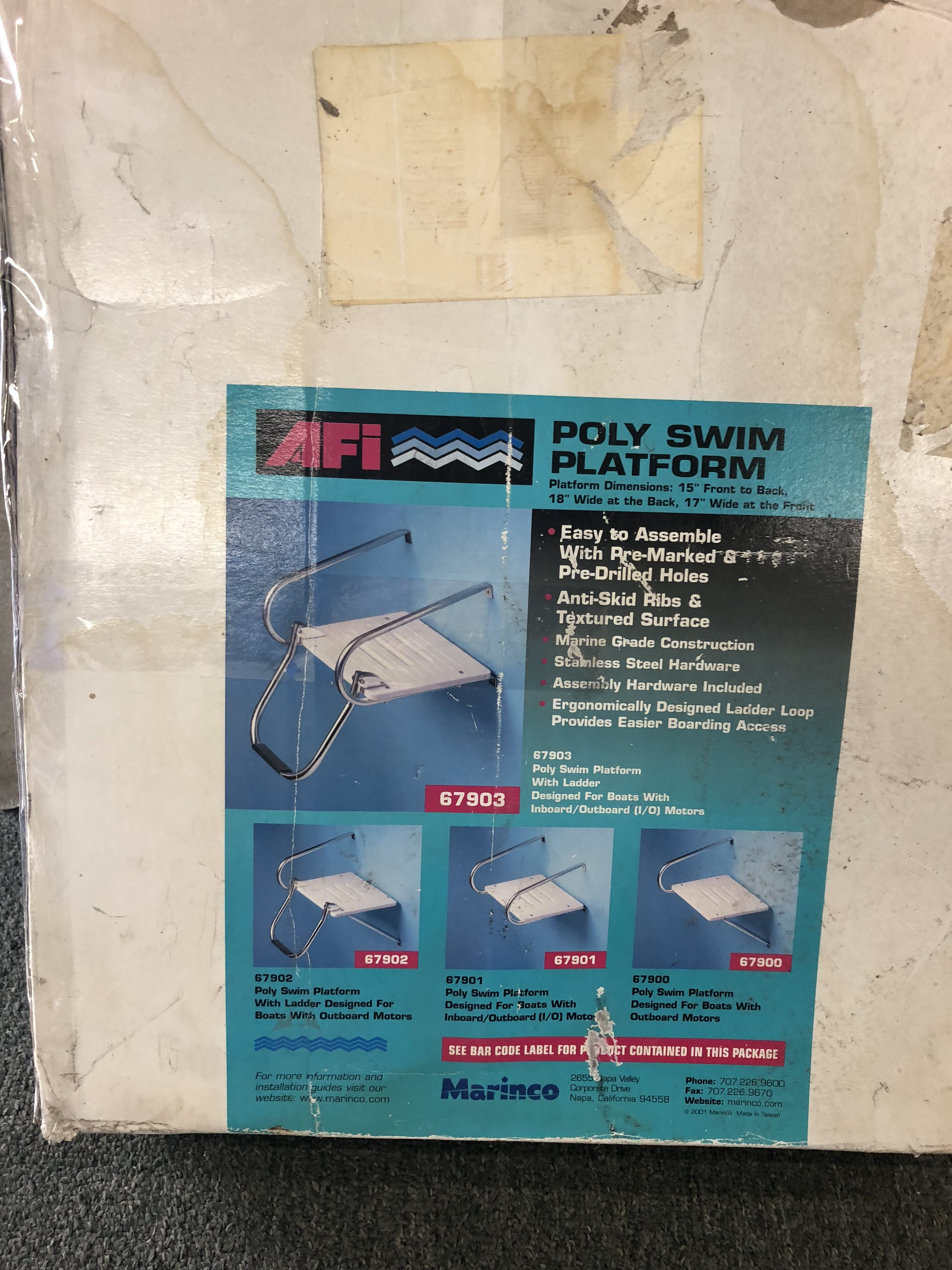 AFI Poly Swim Platform - NEW