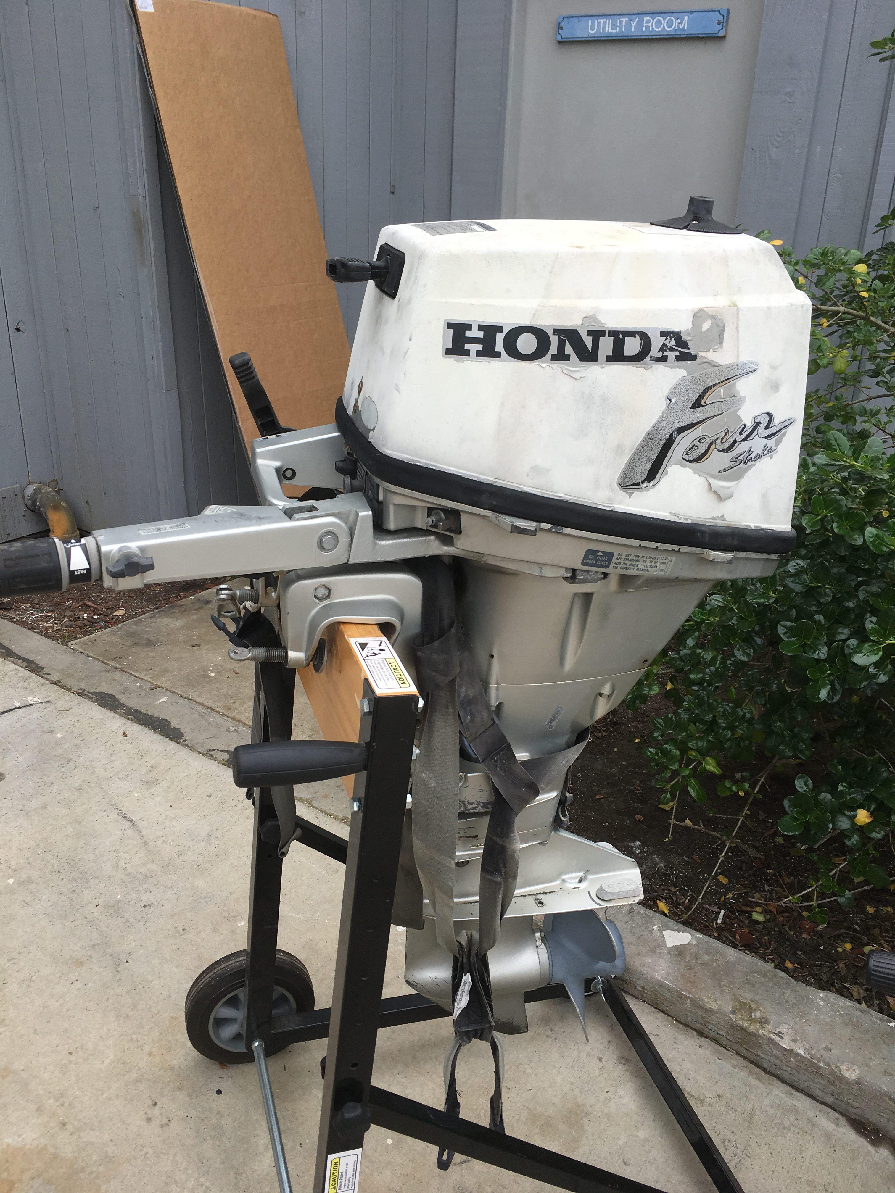 1999 Honda 15HP 4-Stroke Short Shaft Outboard