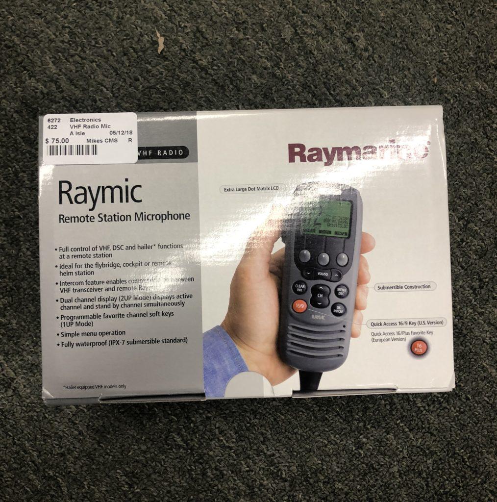 Raymarine RayMic Second Station Mic -