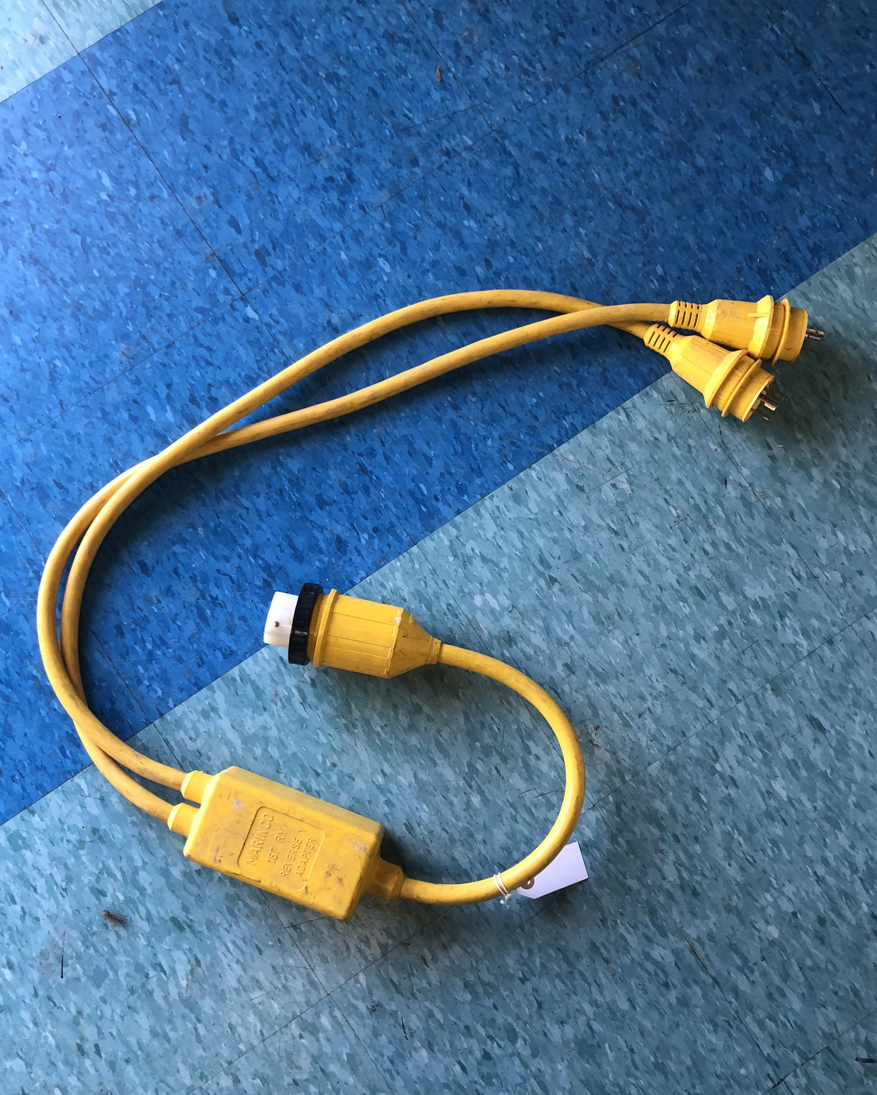 Marinco Reverse Y Wiring Diagram - Custom Wiring Diagram •