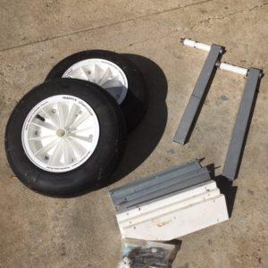 Dinghy Launch Wheels