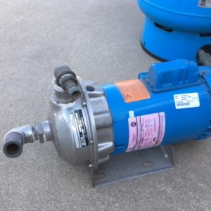 Emerson Pressure Tank and Pump