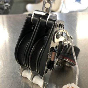 Harken Double Ratchet Block with Cam Cleat and Becket