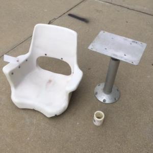 Seat & Pedestal