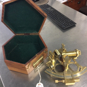 Brass Sextant / Reproduction