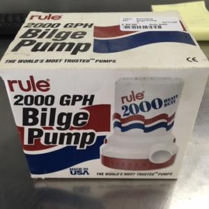"""New"" Bilge Pump Rule 2000"