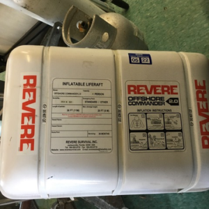 Revere 4 Person Liferaft Exp  05/22